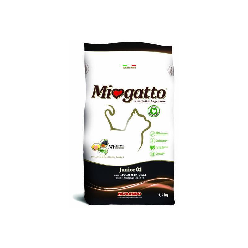 Morando (Морандо) Miogatto Junior 0 - 1 - Сухой корм с курицей для котят
