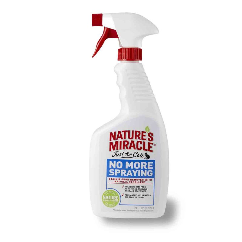 Nature's Miracle (Нейчерс Миракл) No More Spraying & Odor Remover. Средство-антигадин для кошек