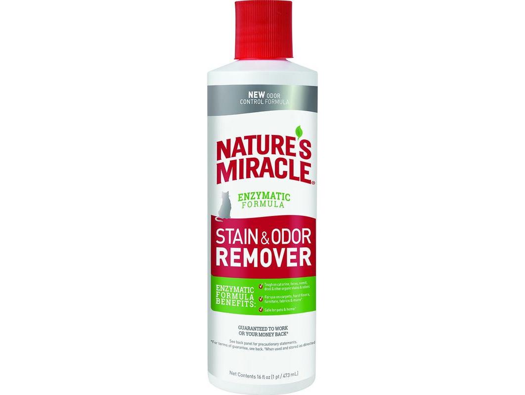 Nature's Miracle (Нейчерс Миракл) Stain&Odor Remover Универсальный уничтожитель пятен и запахов от кошек