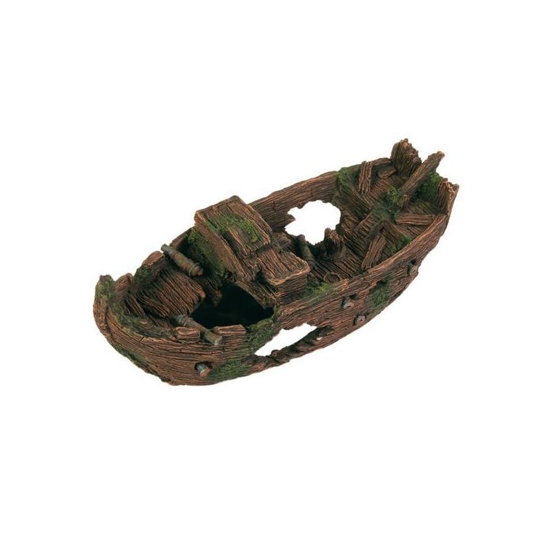 Trixie (Трикси) Decoration Shipwreck. Затонувший корабль для декора аквариума, 29 см