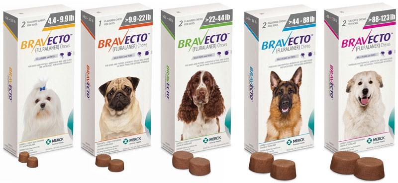 Bravecto (Бравекто) by MSD Animal Health - Противопаразитарные жевательные таблетки от блох и клещей для собак (1 таблетка) - Фото 12