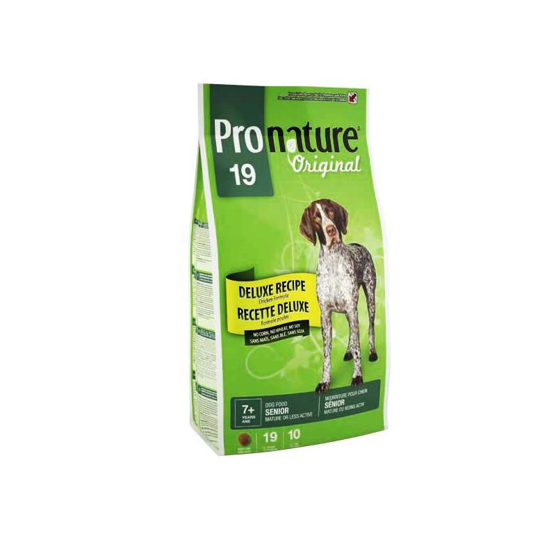 Pronature Original ДЕЛЮКС СЕНЬОР для малоактивных и стареющих собак всех пород