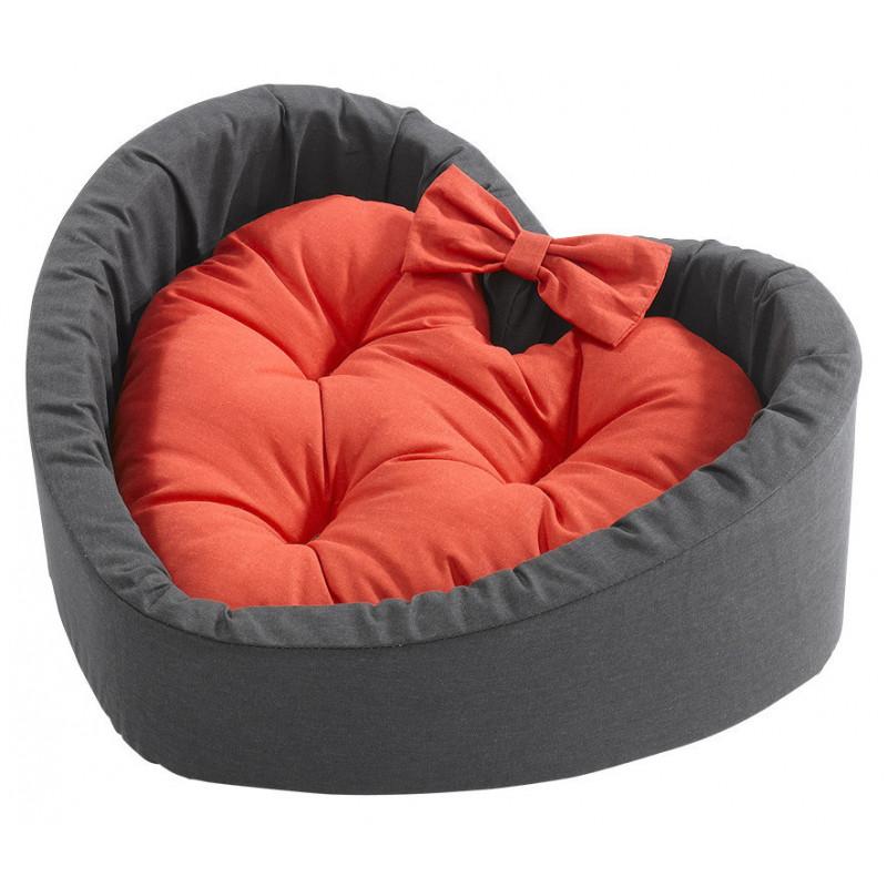 Подушка-сердце хлопок Ferplast Cuore для кошек и небольших собак