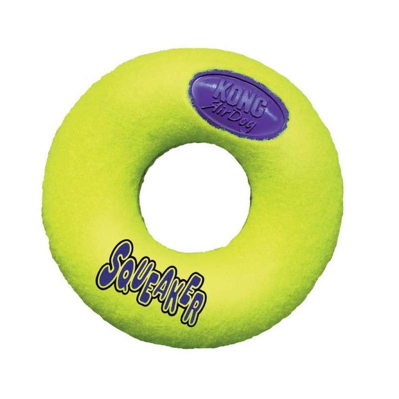 """KONG (Конг) AirDog Donut - Игрушка """"Пищалка-пончик"""""""