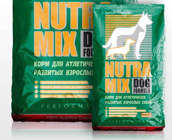 Nutra Mix (Нутра Микс) Dog Performance - Сухой корм с курицей для атлетически развитых взрослых собак