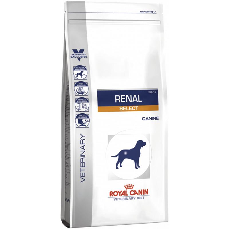 Сухой лечебный корм при почечной недостаточности ROYAL CANIN RENAL SELECT CANINE для взрослых собак