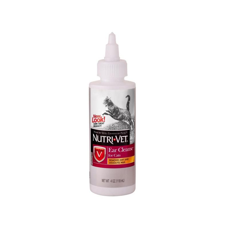 Nutri-Vet Ear Cleanse средство по уходу за ушами для котов