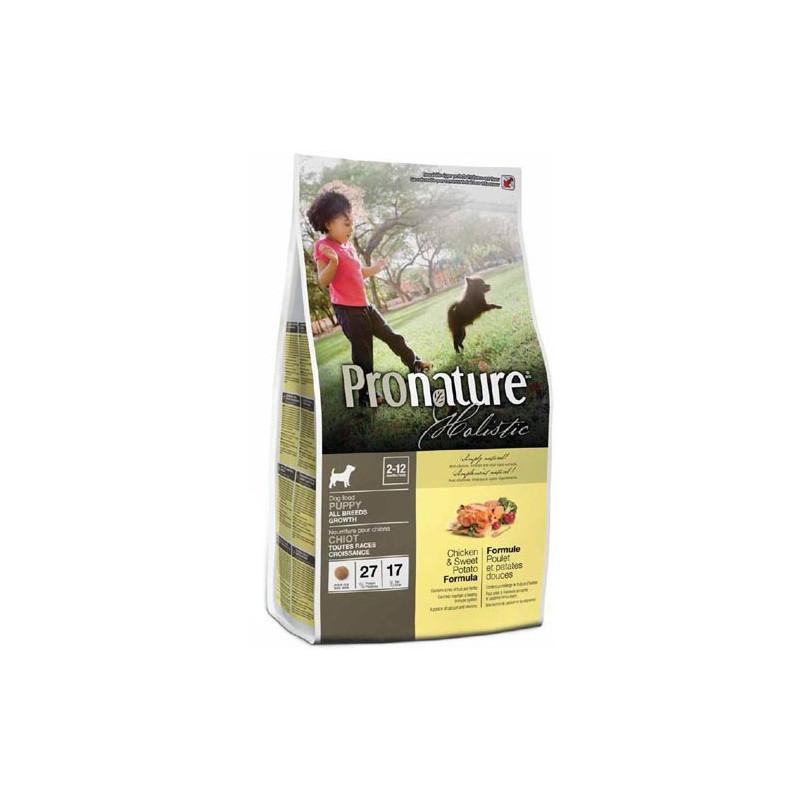 Pronature Holistic КУРИЦА И БАТАТ для щенков всех пород
