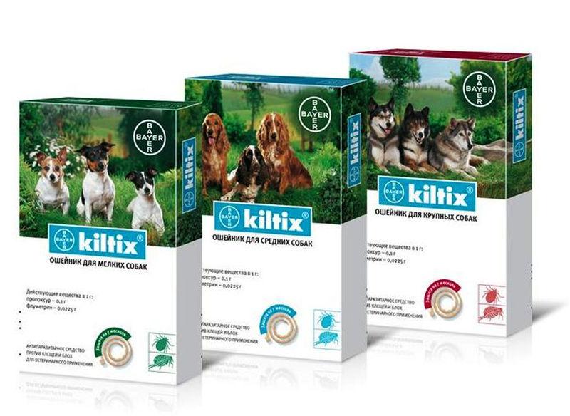 Bayer Animal (Байер Энимал) Kiltix - Ошейник Килтикс от блох и клещей