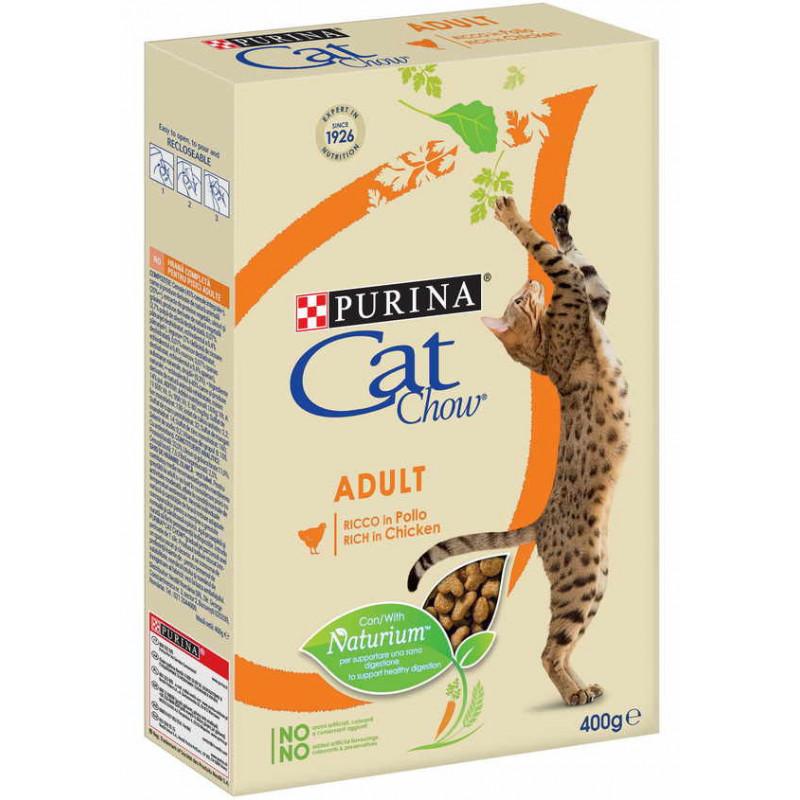 Cat Chow (Кэт Чау) Adult - Сухой полнорационный корм с курицей для взрослых кошек
