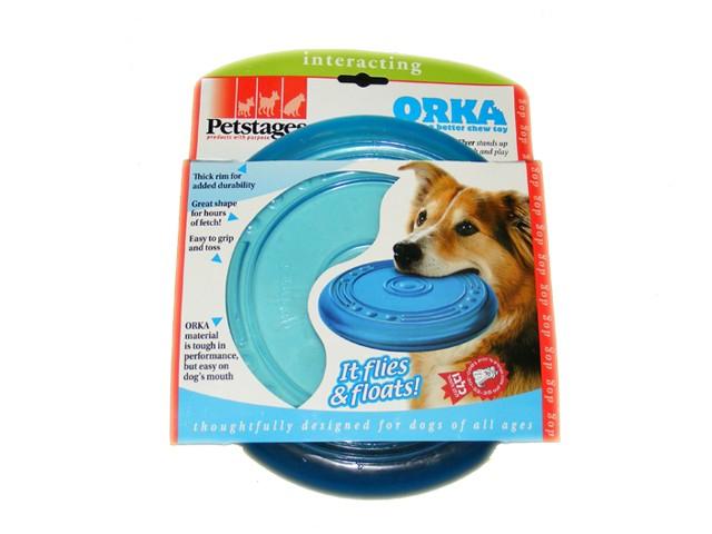 """Игрушка для собак """"Летающая тарелка"""" Orka Flyer Petstages - Фото 4"""