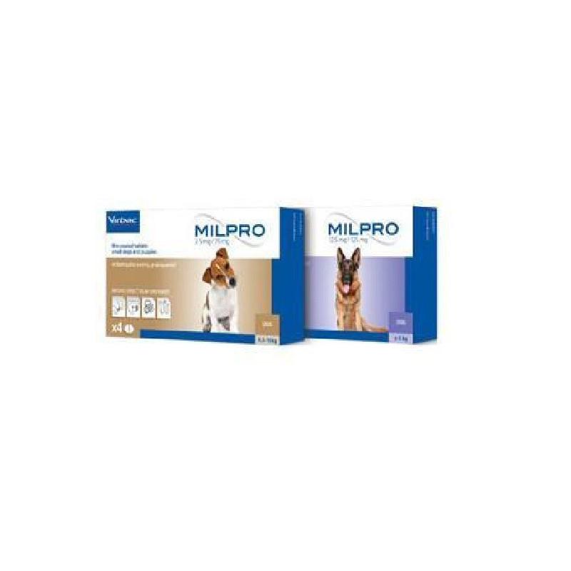 Милпро (Milpro) - противопаразитный препарат для собак и щенков, эффективный антигельминтик