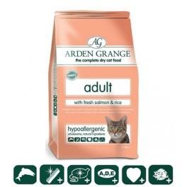 Arden Grange (Арден Грандж) Adult Cat Fresh Salmon & Rice. Сухой корм с лососем и рисом для взрослых (пожилых) кошек