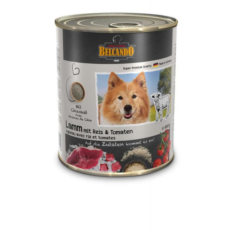 Belcando (Белькандо) Консервированный корм с ягненком, рисом и помидорами для взрослых собак