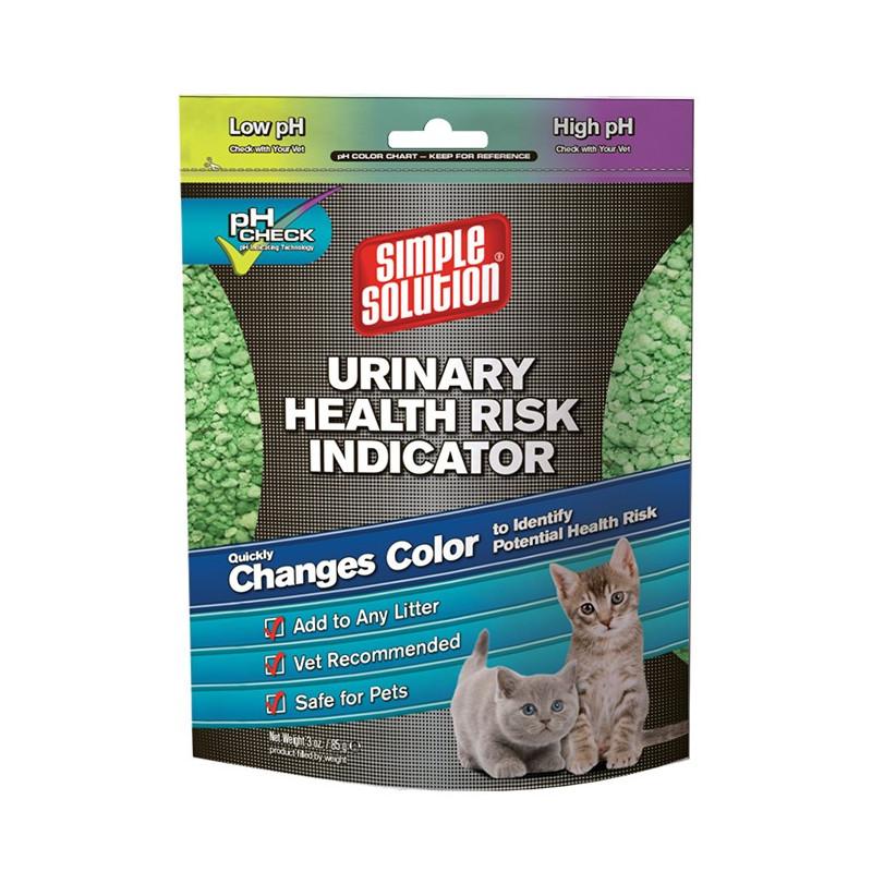 Simple Solution (Симпл Солюшн) Urinary health risk indicator - Индикатор риска мочекаменной болезни у котов