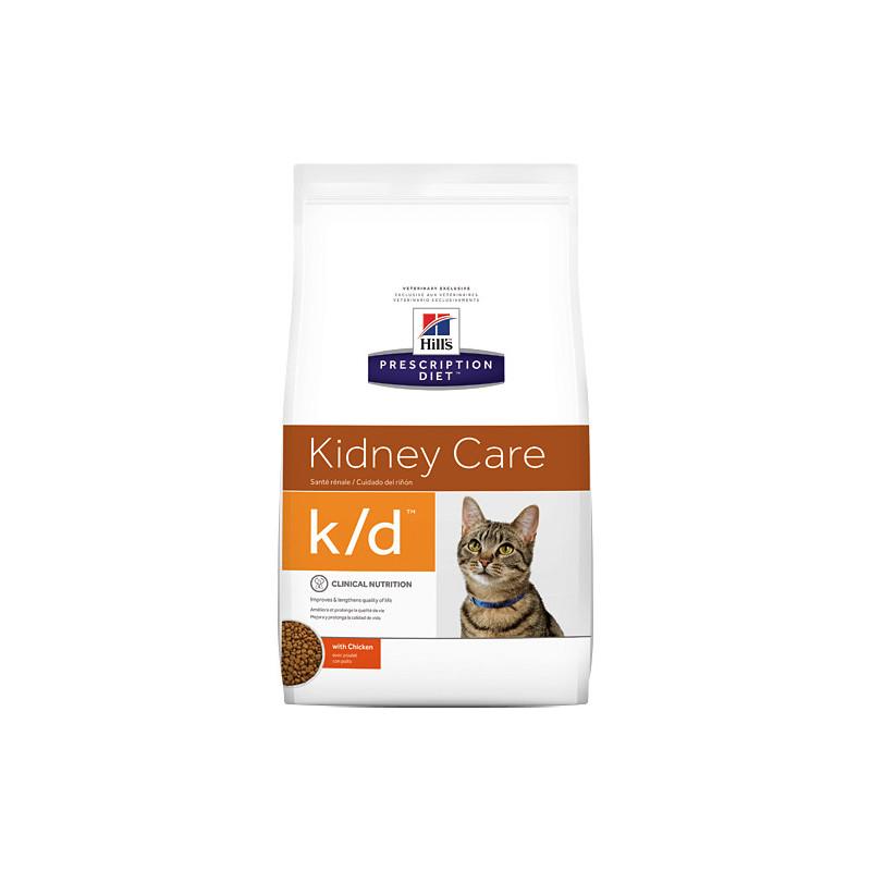Hill's (Хиллс) Prescription Diet k/d Kidney Care - Корм-диета для кошек с курицей ЗДОРОВЬЕ СЕРДЦА И ПОЧЕК