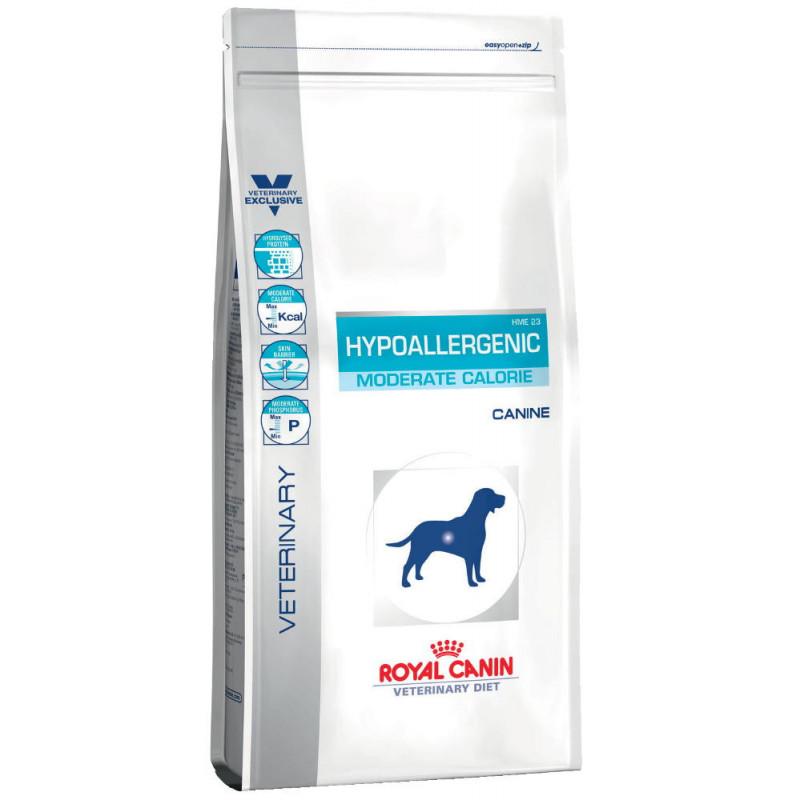 Royal Canin (Роял Канин) Hypoallergenic Moderate Calorie Гипоаллергенная диета для собак с умеренным количеством энергии