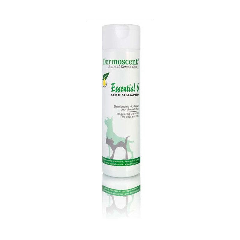 Dermoscent (Дермосент) Essential 6 Sebo Shampoo - Шампунь, регулирующий активность сальных желез