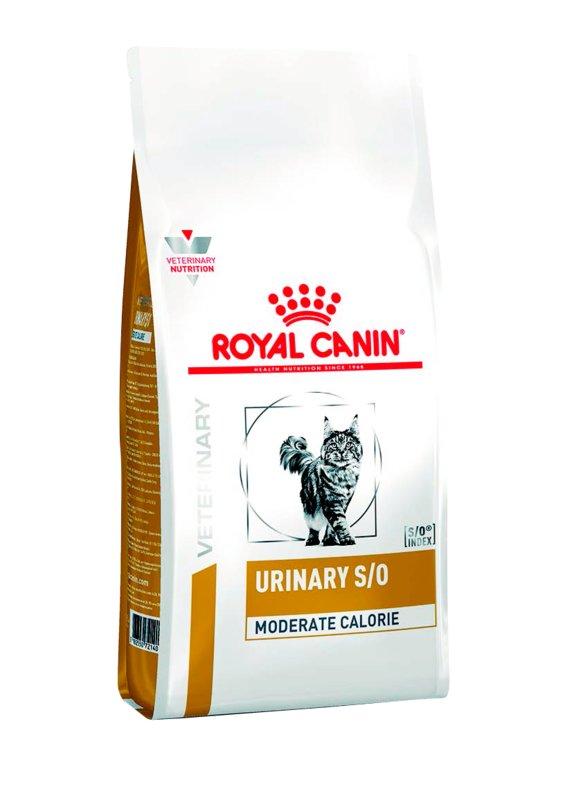 Royal Canin (Роял Канин) Urinary S/O Moderate calorie - Ветеринарная диета для стерилизованных котов при заболеваниях мочевыделительной системы