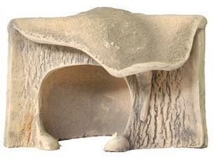 Декор для террариума Природа Грот угловой маленький