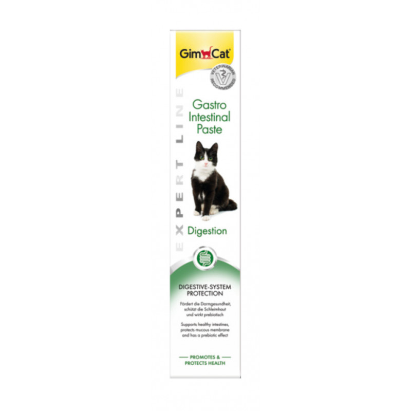 GimСat (ДжимКэт) Gastro Intestinal Paste. Паста для желудка и кишечника у котов