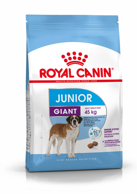 Royal Canin (Роял Канин) Giant Junior - Сухой корм для щенков от 8 до 18/24 месяцев