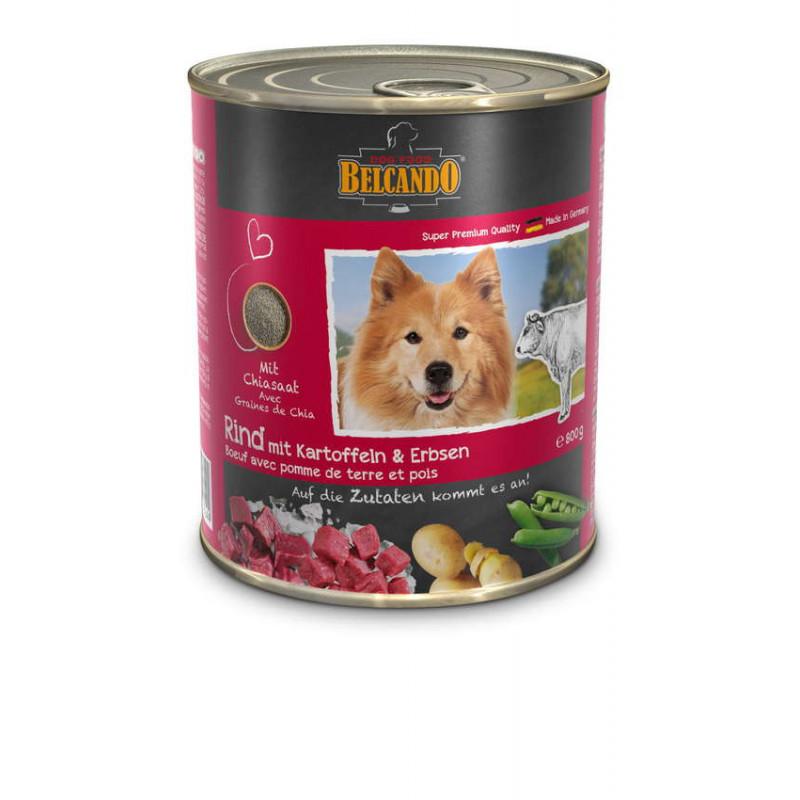 Belcando с говядиной, картофелем и горохом Super Premium Quality Влажные консервы для взрослых собак