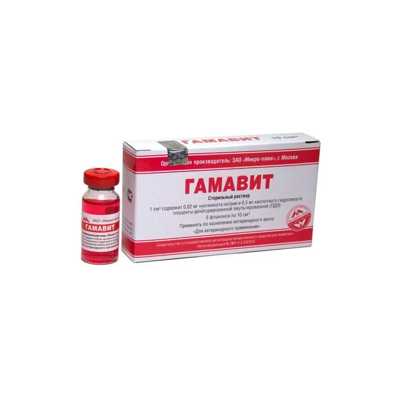 ГАМАВИТ (Gamavit) Раствор для инъекций