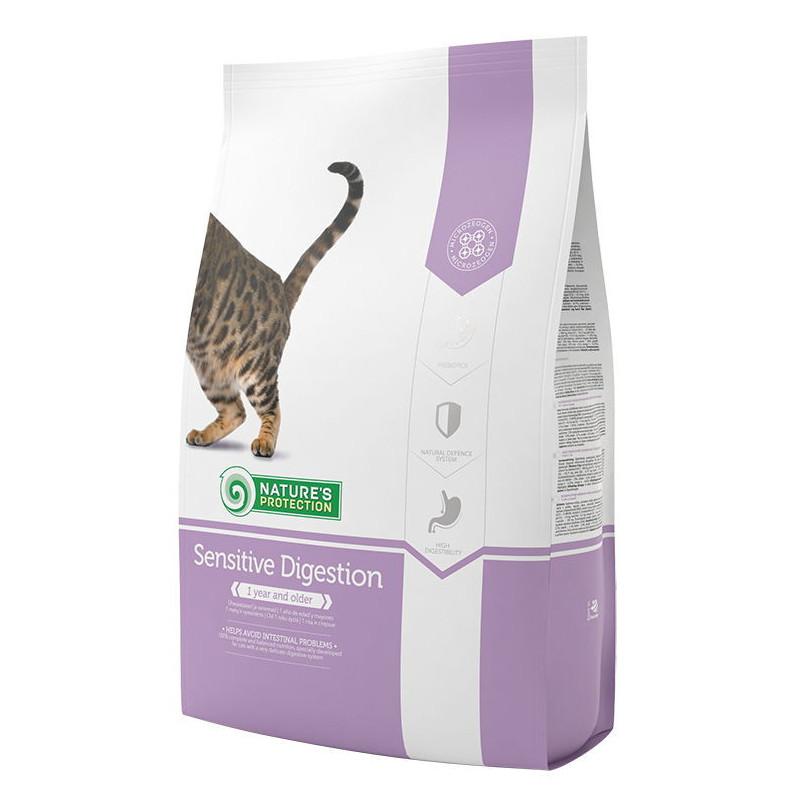 Nature's Protection Sensitive Digestion для котов  чувствительных к пище