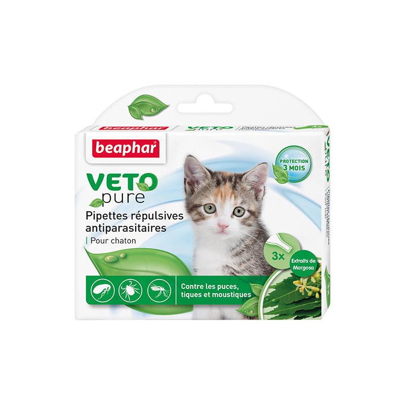 Beaphar (Биафар) Bio Spot On Kitten Натуральные противопаразитарные капли для котят