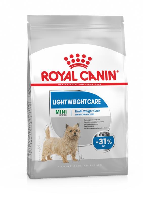 Royal Canin (Роял Канин) Mini Light Weight Care - Сухой корм для собак малых пород, предрасположенных к избыточному весу