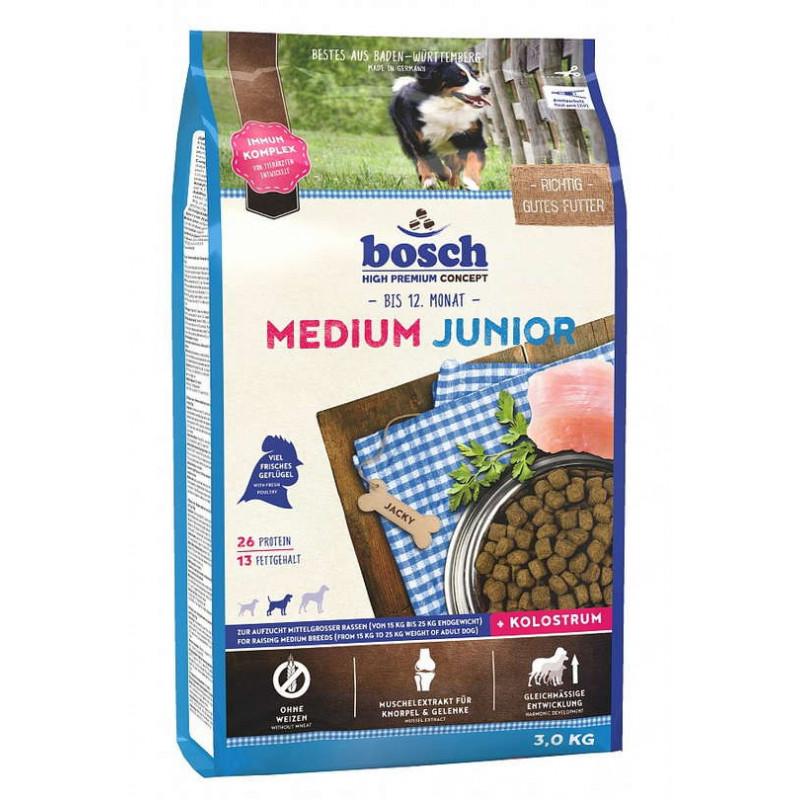 Bosch (Бош) Junior Medium - Сухой корм с домашней птицей для юниоров средних пород