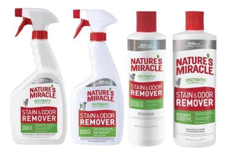 Nature's Miracle (Нейчерс Миракл) Stain&Odor Remover Уничтожитель пятен и запахов от собак