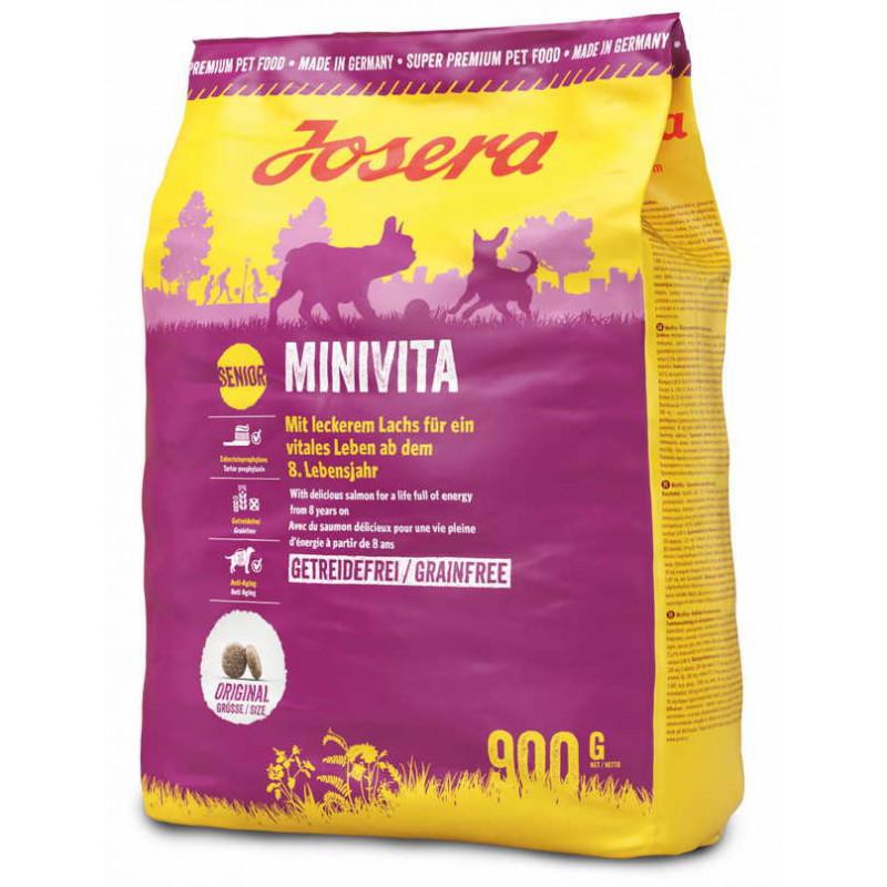 Josera (Йозера) MiniVita Беззерновой корм для взрослых собак старше 8 лет