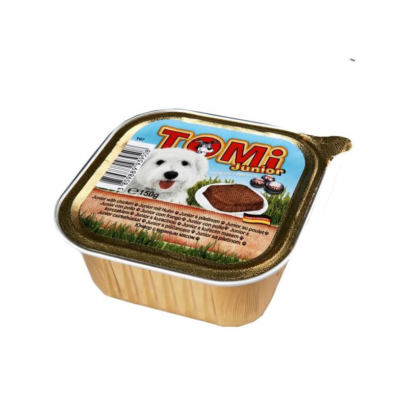 TOMi junior консерва для щенков