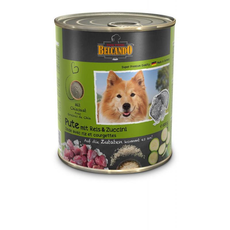 Belcando (Белькандо) Консервированный корм с индейкой, рисом и цукини для взрослых собак