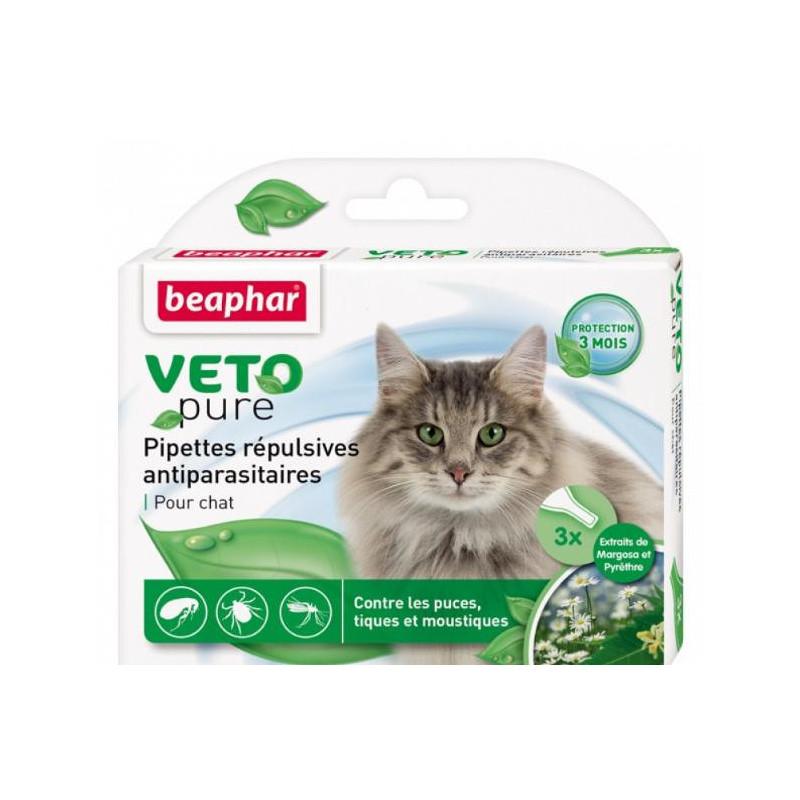 Beaphar (Биафар) Bio Spot On Cat Натуральные противопаразитарные капли для кошек
