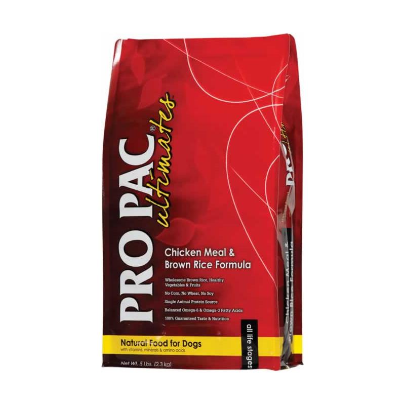 PRO PAC (Про Пак) DOG Chicken & Brown Rice Formula - Сухой корм с курицей и рисом для взрослых собак