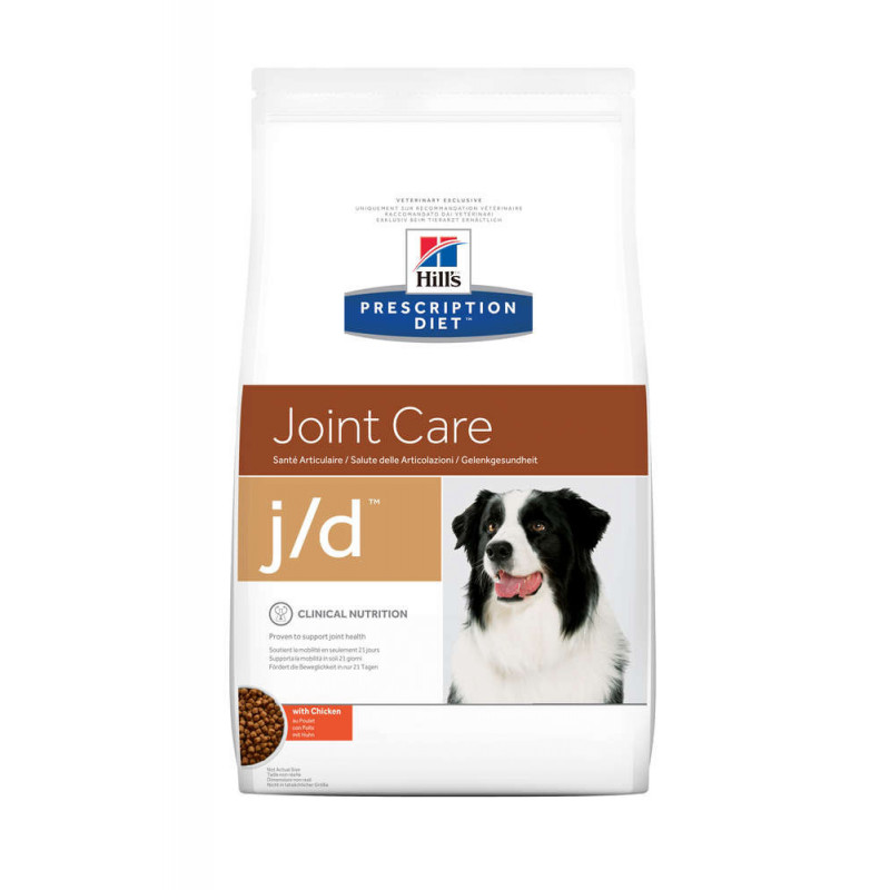 Hill's (Хиллс) Prescription Diet j/d Joint Care - Корм-диета для собак с курицей ЗДОРОВЬЕ СУСТАВОВ