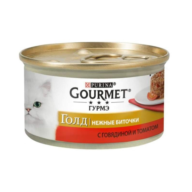 Gourmet Gold (Гурмэ Голд) - Консервированный корм