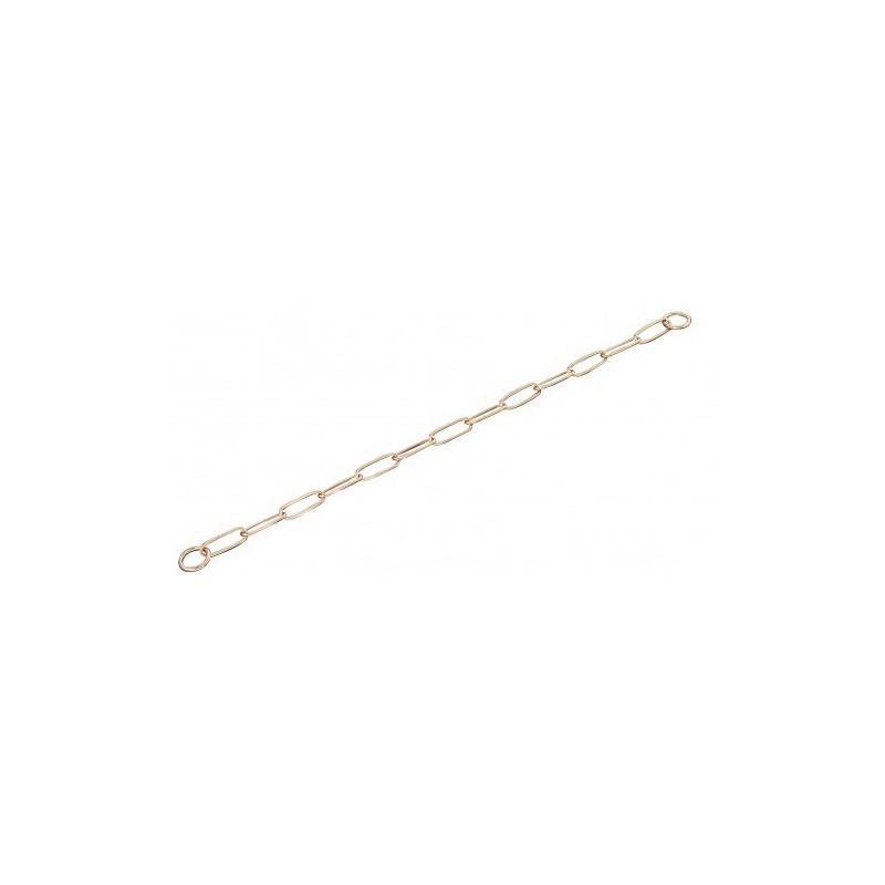 Sprenger (Шпренгер) Long Link ошейник-цепь для собак, широкое звено, 3 мм, куроган сталь