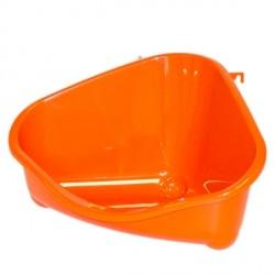Moderna ПЕТС КОРНЕР туалет угловой для грызунов, средний, 35Х23,4Х19 см