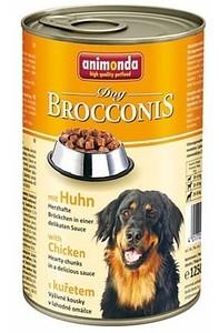 Animonda (Анимонда) Brocconis Dog with Chicken - Консервированный корм с курицей для взрослых собак (кусочки в соусе)
