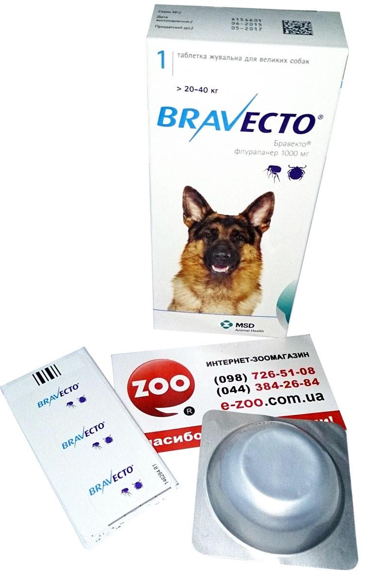 Bravecto (Бравекто) by MSD Animal Health - Противопаразитарные жевательные таблетки от блох и клещей для собак (1 таблетка) - Фото 11