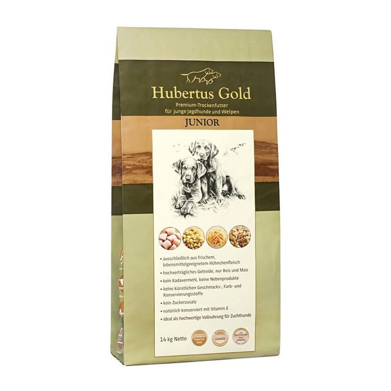 Hubertus Gold Junior  корм  для щенков  и юниоров