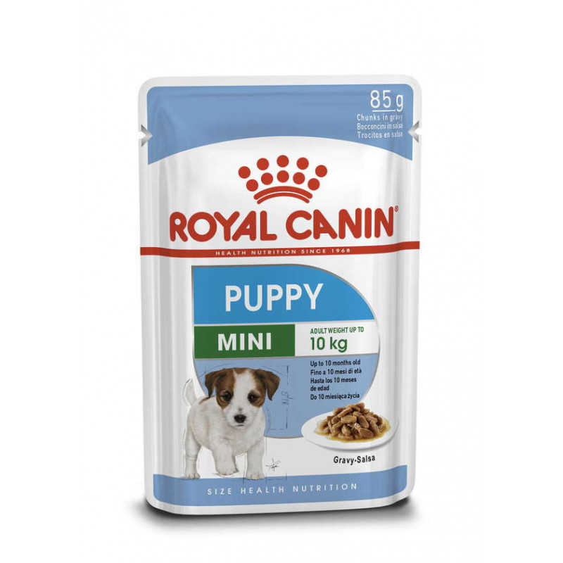 Royal Canin (Роял Канин) Mini Puppy - Влажный корм для щенков мелких пород (кусочки в соусе)