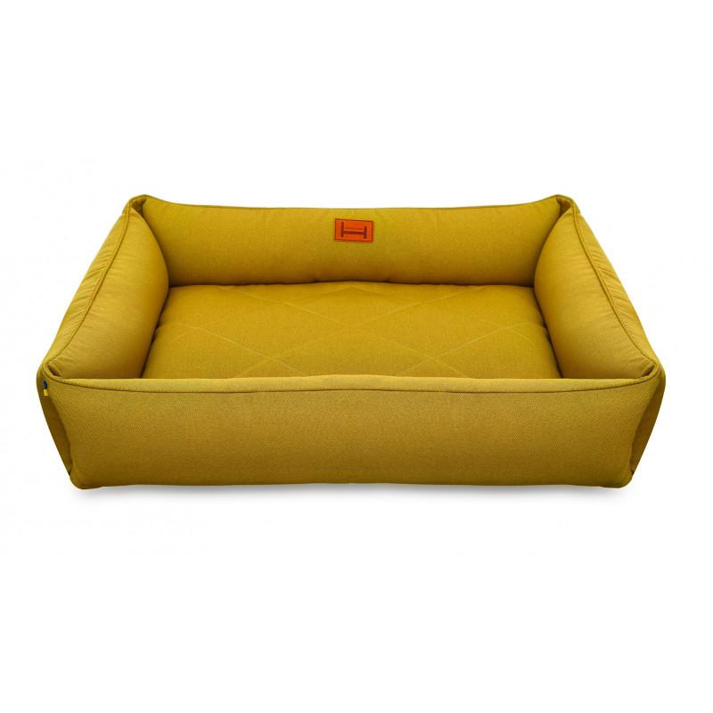 Лежак мебельная рогожка HARLEY & CHO для средних и больших собак
