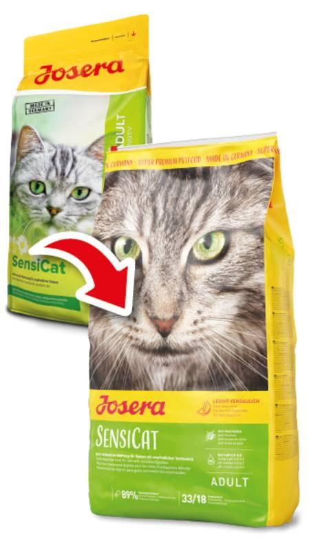 Josera (Йозера) SensiCat - Сухой корм с птицей для кошек с чувствительным пищеварением - Фото 3