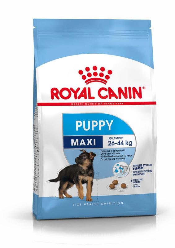 Royal Canin (Роял Канин) Maxi Puppy. Сухой корм для щенков от 2 до 15 месяцев