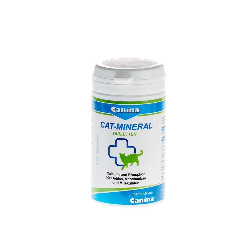 Таблетки Canina Cat-Mineral Минеральная добавка для кошек